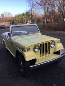 1967 jeepster convertible yellow and white (SOLD)