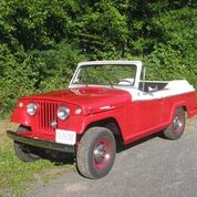 1967 convertible red and white