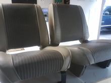 buckskin seat stripe