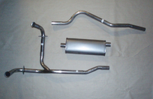 1972-73 Jeep Commando V8 Aluminized Steel Single Exhaust