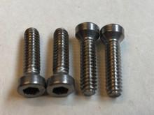 Interior door handle/window cranks screws set of 4, new stainless steel!!