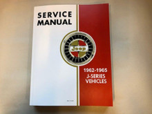 Service Manual, J-Truck and Gladiator 1962-1967