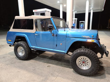 top full soft   jeepster commando jeep commando