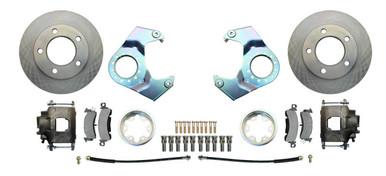 Disc Brake conversion, 25/27/30/44, thick rotors