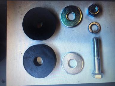 Grill Bushing Kit, 55-71 CJ5/CJ6