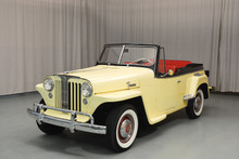 TOP BOOT BLACK WILLYS VJ JEEPSTER CONVERTIBLE