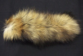 "Natural Red Fox Tails Small, 7""-10""."