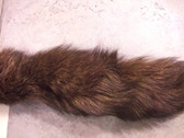DYED GOLD TUDRA FOX TAIL