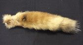 AMERICAN RED FOX TAIL WITHOUT TIP.