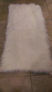 Bleached White Kalgan Lamb Plate