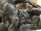 Lot of 50 fox  tails dyed brown size 6''-9''