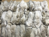 Lot of 50 fox tails dyed hazel size 6''-9''