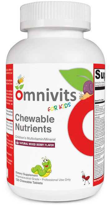 Chewable Nutrients | Children's Multivitamins/Mineral
