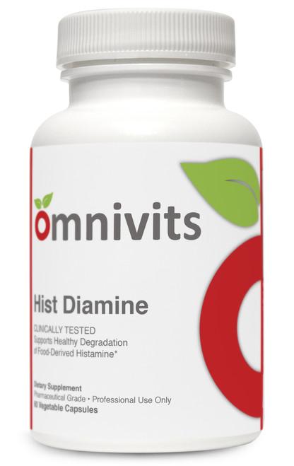 Hist Diamine Histamine Blocker 20,000HDU of DAO Omnivits Histamine Intolerance Allergy season support
