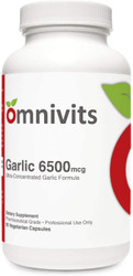 Garlic 6500mcg (Odorless)