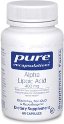 Alpha Lipoic Acid 400 mg Pure Encapsulations