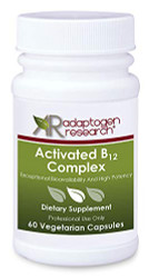 Activated B12 Complex Adaptogen Reseach essential B complex vitamins