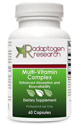 Multi-Vitamin Complex Once Daily Multivitamin Supplement with Folate as Metafolin L-5-MTHF B12 as Methylcobalamin Vitamin A C D3