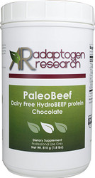 PaleoBeef | Dairy Free | HydroBEEF protein | Chocolate | 810g | Adaptogen Research