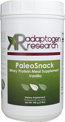 PaleoSnack |  Vanilla | Whey Protein Meal Supplement | 900g | Adaptogen Research