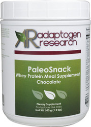 PaleoSnack | Chocolate | Whey Protein Meal Supplement | 540g | Adaptogen Research