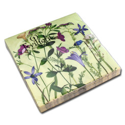 Flower Scenery Luncheon Napkin