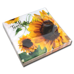 Composition of Sunflowers Luncheon Napkin