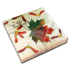 Maple Leaf Luncheon Napkin