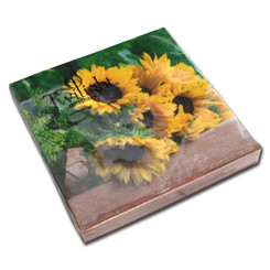 Magnificent Sunflowers Luncheon Napkin