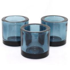 Heavy Glass Holder - Petrol