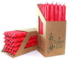 Red Eco Dinner Candle | 25 Pack