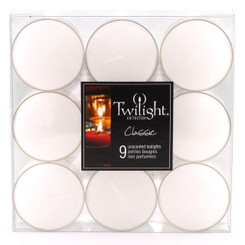 White Tealights | 9-pack