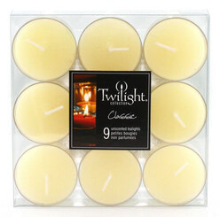 Ivory Tealights | 9-pack
