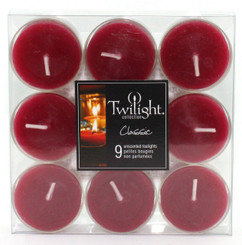 Bordeaux Tealights | 9-pack