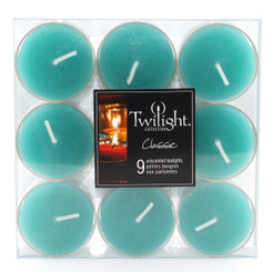 Turquoise Tealights | 9-pack