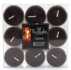 Black Tealights | 9-pack