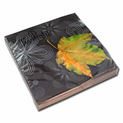 Autumn Leaf Luncheon Napkin