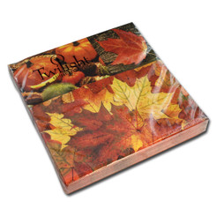 Autumn is There Luncheon Napkin