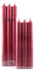 Cranberry Dinner Candle   Six Pack
