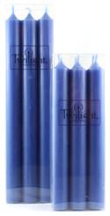 Cobalt Blue Dinner Candle | Six Pack