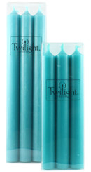 Turquoise Dinner Candle | Six Pack