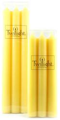 Lemon Chiffon Dinner Candle | Six Pack