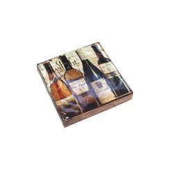 Dégustation de Vin Cocktail Napkin
