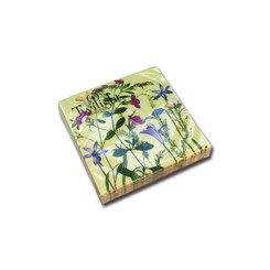 Flower Scenery Cocktail Napkin