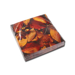 Autumn Foliage Cocktail Napkin