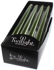 Dark Green Metallic Taper | 12 Pack