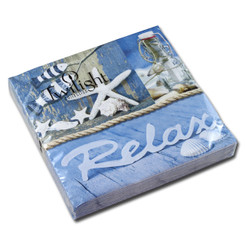Time to Relax Luncheon Napkin