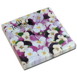 Pansies All Over Luncheon Napkin