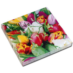 Spring Posy Luncheon Napkin