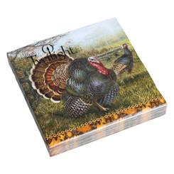 Turkey Luncheon Napkin